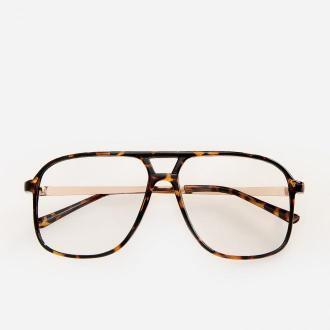 Reserved - Okulary - Brązowy