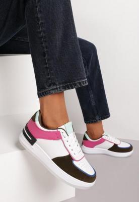 Biało-Czarne Sneakersy Dusna