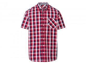 LIVERGY® Koszula męska z krótkim rękawem, 1 sztuk