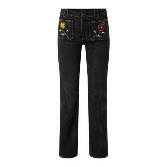 Jeansy rozkloszowane z dodatkiem streczu model 'Jenn'