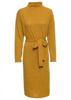 Sukienka oversize bonprix żółty curry