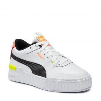 Sneakersy PUMA - Cali Sport Wn's 373871 06 P White/P Black/Nrgy Peach