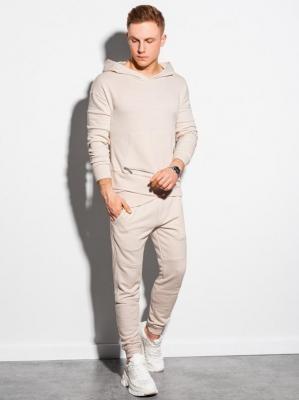 Komplet męski bluza + spodnie Z24 - biały - XXL