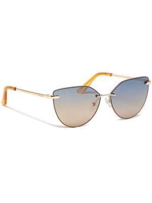 Guess Okulary przeciwsłoneczne GU7642 5832W Złoty