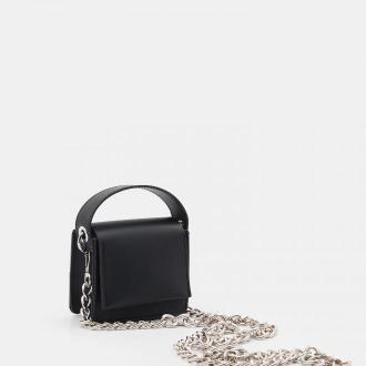 Sinsay - Mini torebka na łańcuszku - Czarny