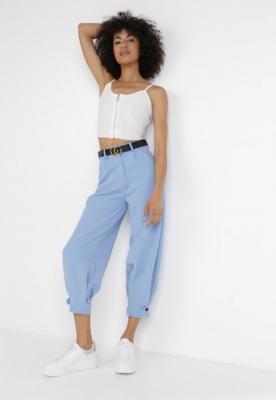 Jasnoniebieskie Spodnie Tryxsha