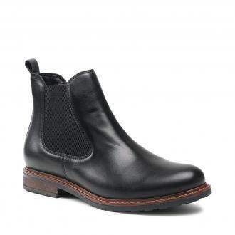 Sztyblety TAMARIS - 1-25056-27 Black Leather 003