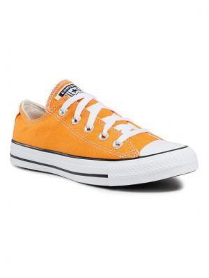 Converse Trampki Ctas Ox Kumquat 170468C Pomarańczowy