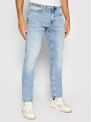 Tommy Jeans Jeansy Scanton DM0DM09913 Niebieski Slim Fit