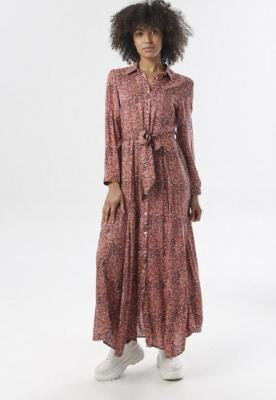 Różowa Sukienka Tamborine