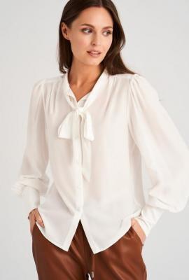 Elegancka bluzka z wiązaniem