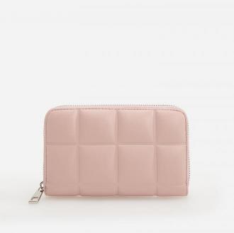 Reserved - Pikowany portfel - Różowy