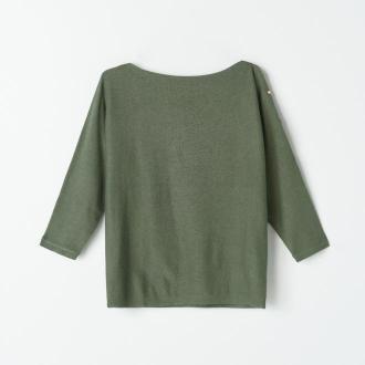 Mohito - Sweter z ozdobnymi guzikami - Khaki