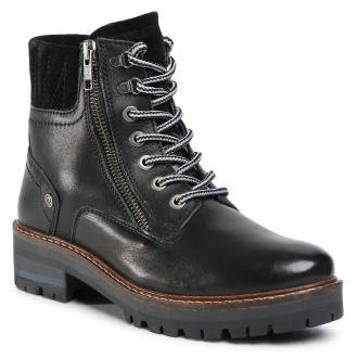 Botki WRANGLER - Denver Zip Leather WL02543A  Black 062