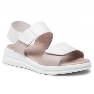 Sandały BADURA - B4007-69-110 Biały