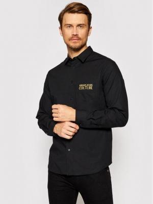 Versace Jeans Couture Koszula Pocket Emb Logo 71UP200 Czarny Regular Fit