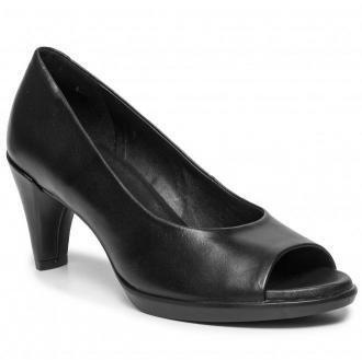 Półbuty ECCO - Shape 55 Peep Toe Sleek 26830301001 Black