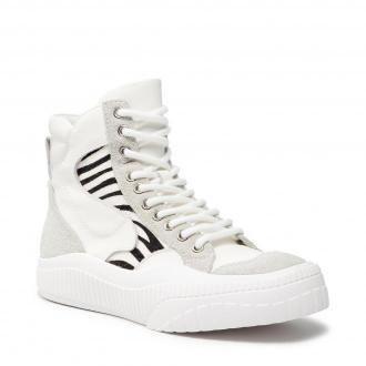 Sneakersy TWINSET - 212TCP114  Bianco/Furry Zebra 06267