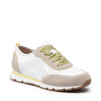 Sneakersy JANA - 8-23614-26 White/Saffron 160
