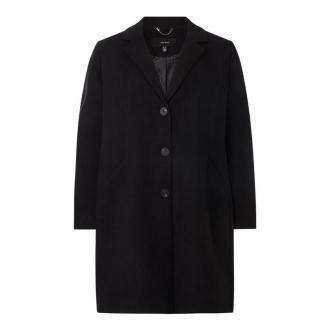 Płaszcz PLUS SIZE z dodatkiem wiskozy model 'Calacindy'