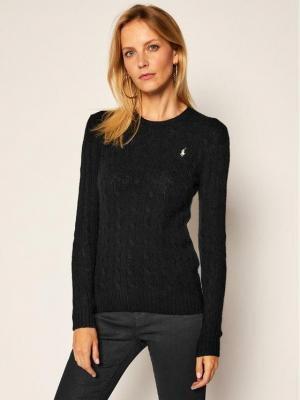 Polo Ralph Lauren Sweter Julianna Wool/Cashmere 211525764002 Czarny Regular Fit