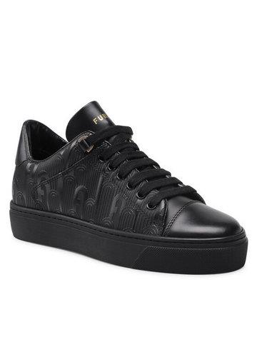 Sneakersy Hikaia Low YE51HKL-BX0072-O6000-9-001-20-Al-3500 S Czarny