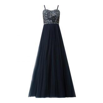 Sukienka gorsetowa z ozdobnymi perełkami