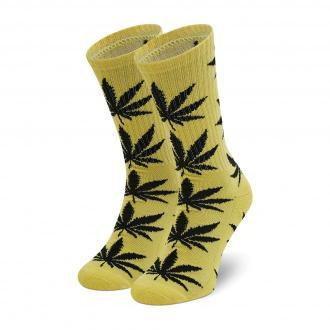 Skarpety Wysokie Unisex HUF - Essentials Plantlife Sock SK00298 r. OS Lemon