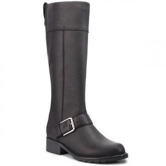 Oficerki CLARKS - Orinoco Jazz 261381964  Black Warmlined Leather