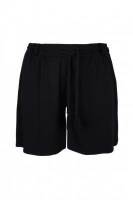 ZANZI BLACK luźne shorty plus size : size - 52/54