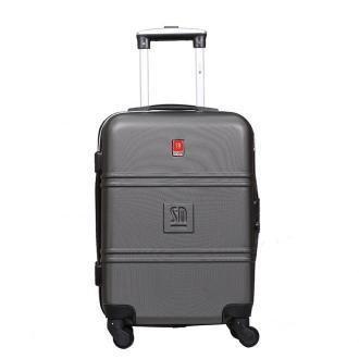 walizka kabinowa Art Class Collection 55 cm popielata