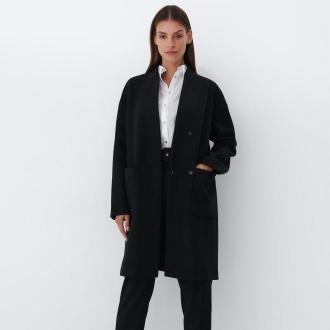 Mohito - Klasyczny płaszcz - Czarny