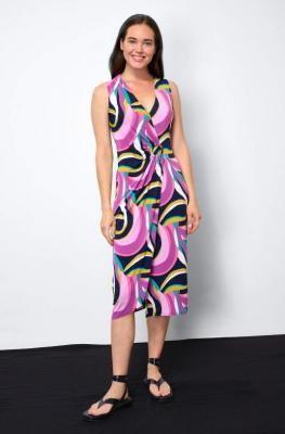 Kopertowa sukienka midi