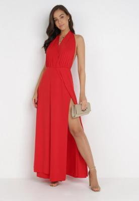 Czerwona Sukienka Sagassa