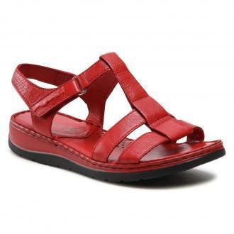 Sandały CAPRICE - 9-28151-26 Red Nappa 501