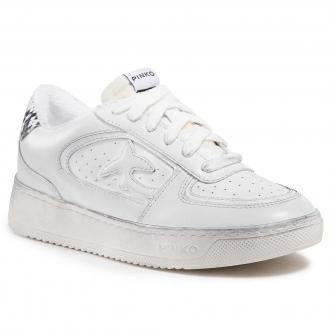 Sneakersy PINKO - Liquirizia Low Top Sneaker. PE 21 BLKS1 1H20UH Y733 White Z14