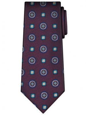 Vistula Krawat Richland XY0566 Bordowy