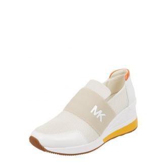 Sneakersy wsuwane z siateczki i skóry model 'Felix'