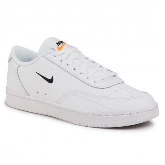 Buty NIKE - Nike Court Vintage White/Black/Total Orange