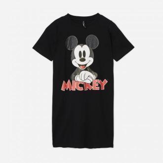 House - Sukienka t-shirtowa Mickey Mouse - Czarny