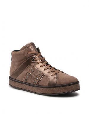 Geox Sneakersy D Leelu' B D16FFB 022PV C5005 Brązowy