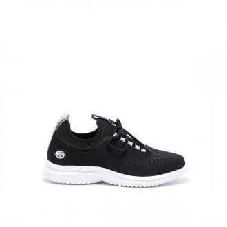 Damskie sneakersy czarne Dockers HH2D3018