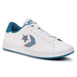 Sneakersy CONVERSE - All-Court Ox 567868C White/Egyptian Blue