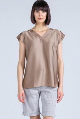 Elegancka połyskująca bluzka