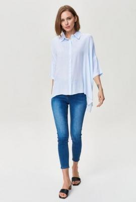 Gładka koszula damska