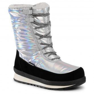 Śniegowce CMP - Harma Wmn Snow Boot Wp 39Q4976 Silver U303