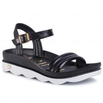 Sandały CARINII - B5516 E50-000-000-D73 Czarny