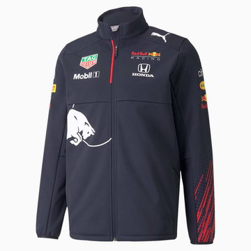 PUMA Męska Kurtka Softshellowa Red Bull Racing Team, Night Sky, rozmiar XS, Odzież