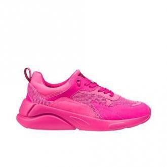 WJS Wjs Sneakersy Damskie W Kolorze Ciemnego Różu