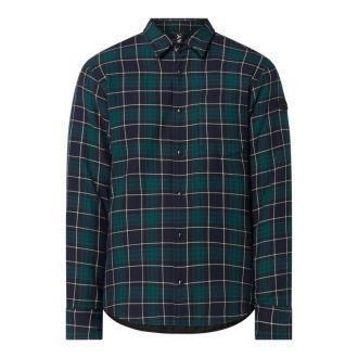Koszula flanelowa o kroju regular fit z bawełny